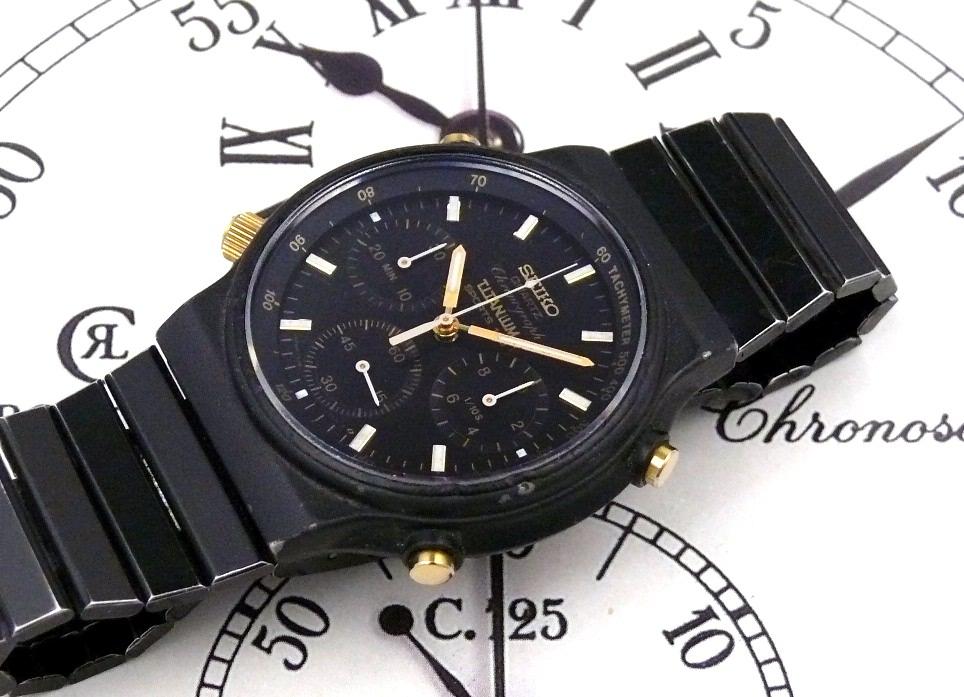 seiko quot titanium sports 100 quot chronograph